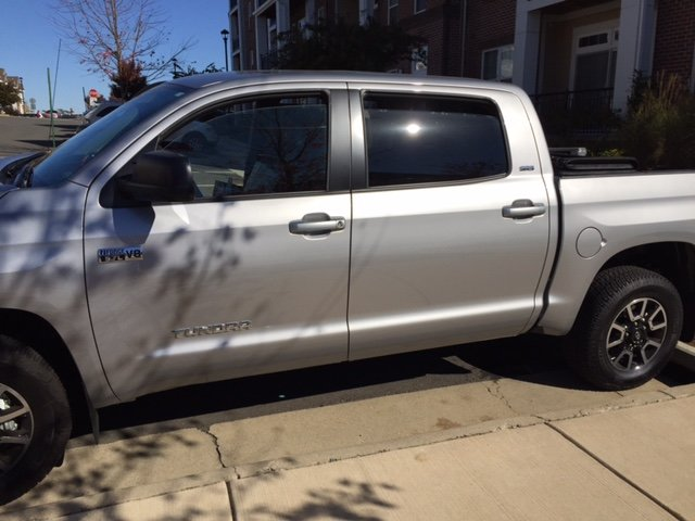 For 2014-2018 TOYOTA Tundra Ext Cab Chrome Door Handle COVERS+Mirror+Tailgate