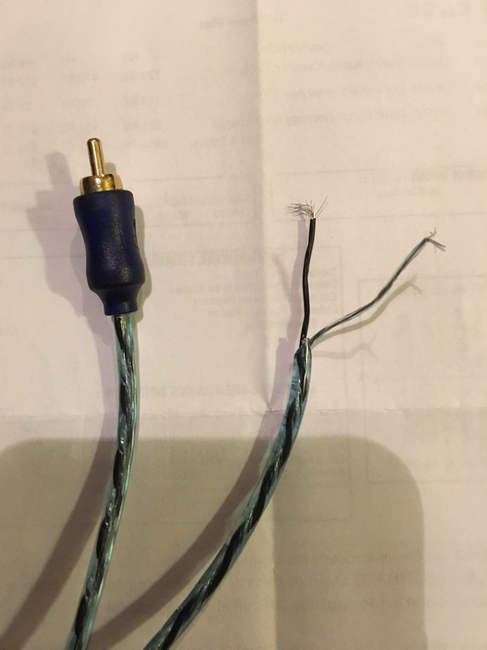 Back Up Camera Wires In A Pilar Help Toyota Tundra Forum Backup Wiring Diagram Img 2528 2628