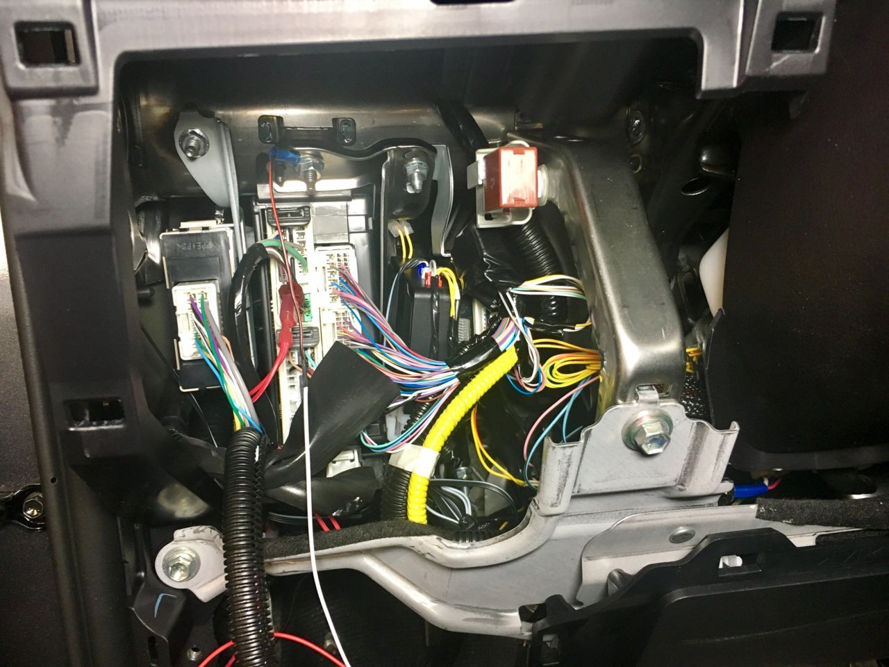 Fortin Evo One Remote Start Toyota Tundra Forum 2013 Tacoma Wiring Diagram Img 2709