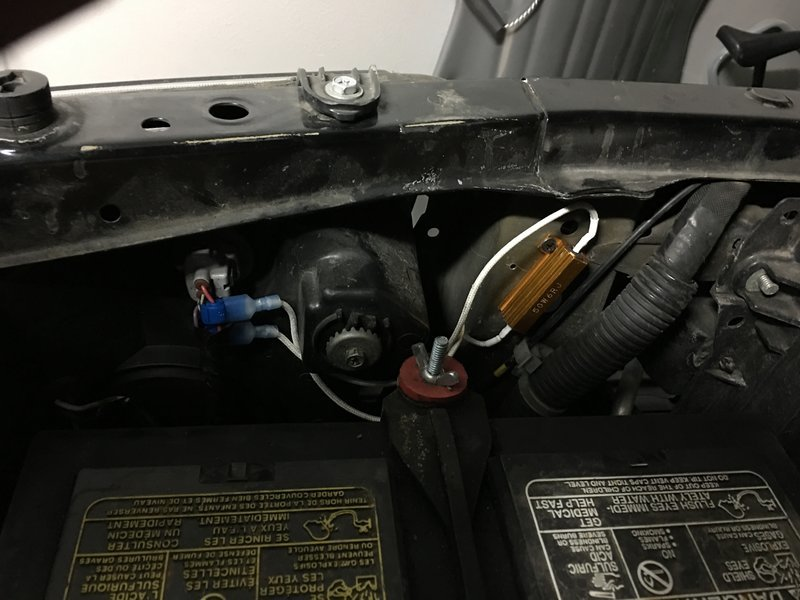 Diy  Led Drl  Turn Signal With Resistor Install