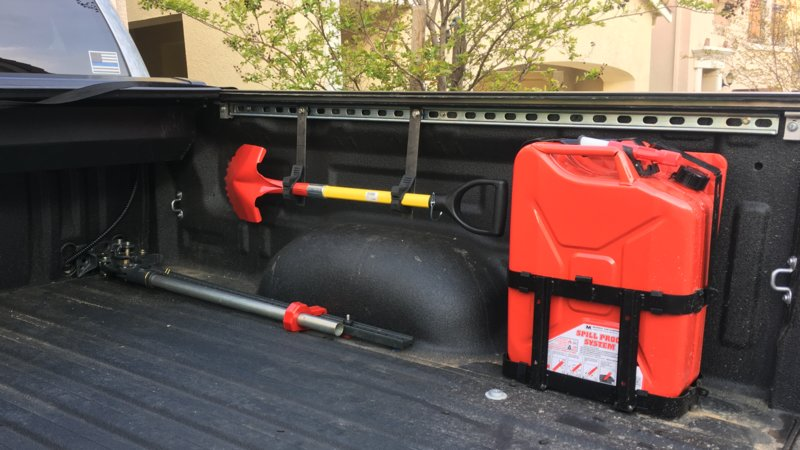 Jerry Can Holder For Truck Bed >> Need holding Clamps | Toyota Tundra Forum