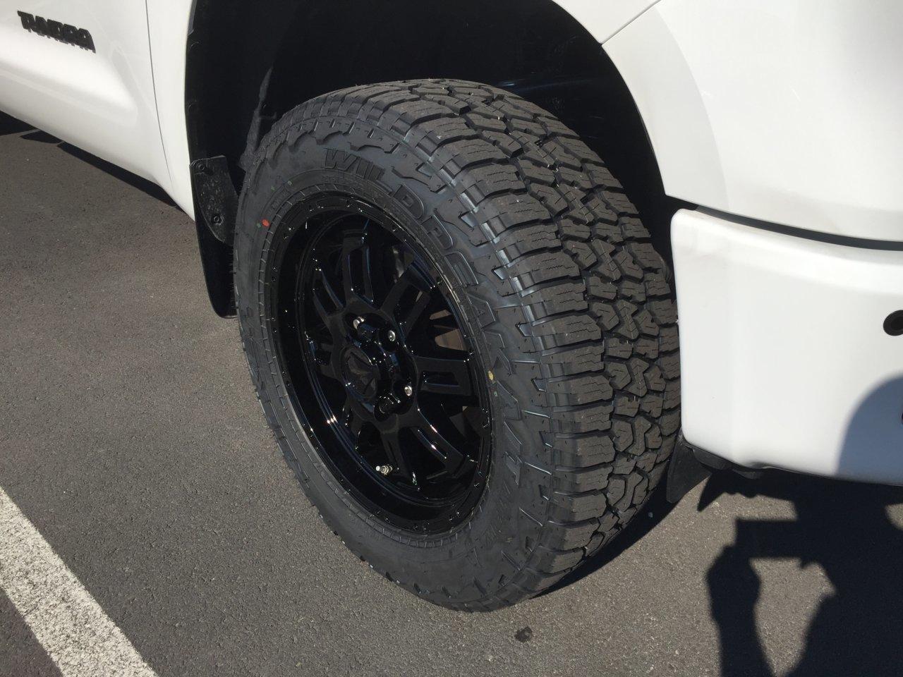 P275 65r18 Tires >> Finally got my new setup installed, custom TSS wheels and ...