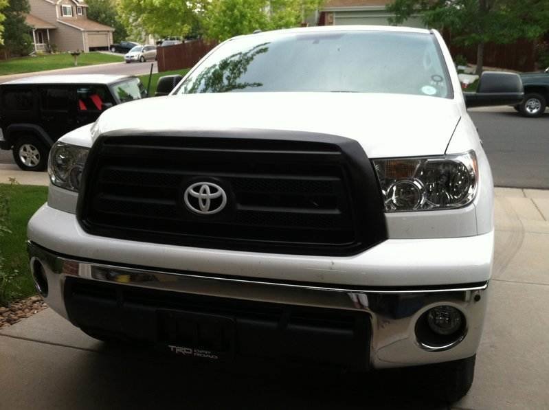 ultimate plastidip thread what have you dipped toyota tundra forum rh tundras com toyota tundra black grill emblem 2008 toyota tundra black grill