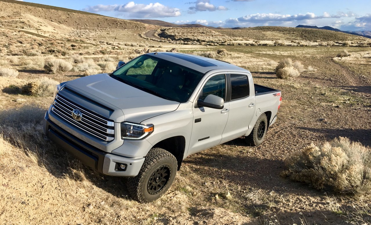 EAG 2014-2018 Toyota Tundra Tailgate Insert Letters Chrome