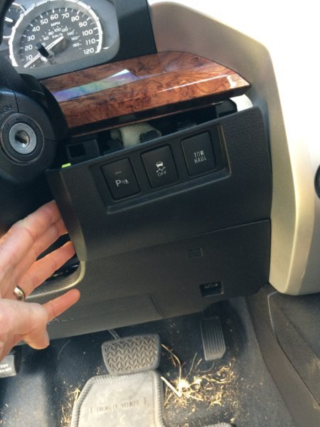 Brake controller installation toyota tundra forum it would be sharper if it came with black panhead screws so it blended in better but i leave tomorrow with a trailer and am glad i was able to get it up swarovskicordoba Choice Image