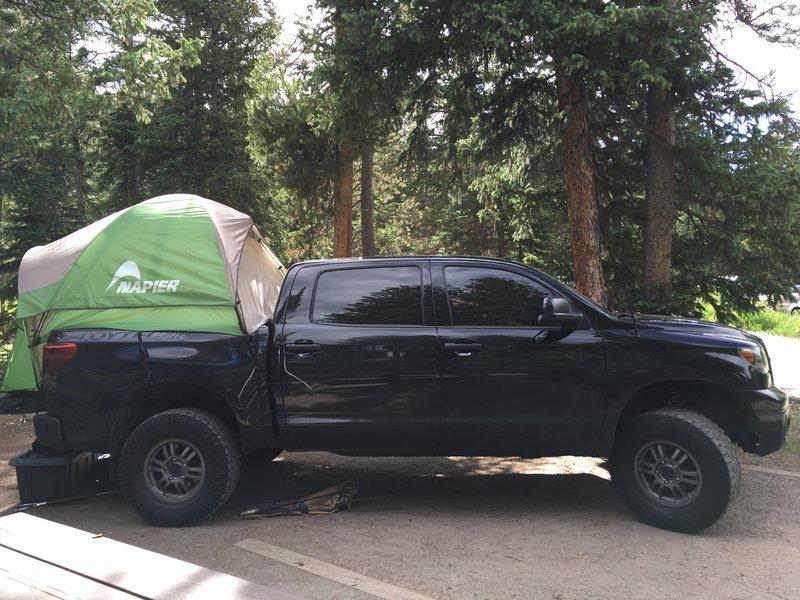 Napier truck tent review