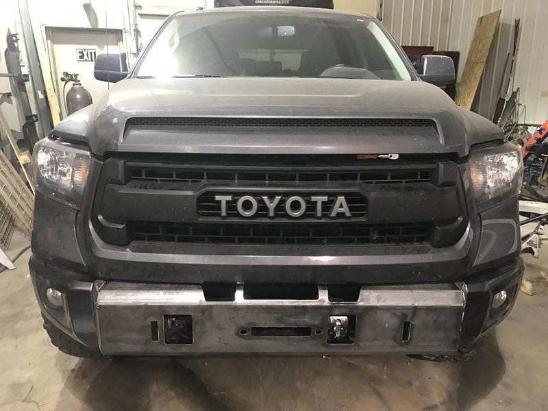 P&P Engineering Tundra Front Low Pro Winch Bumper