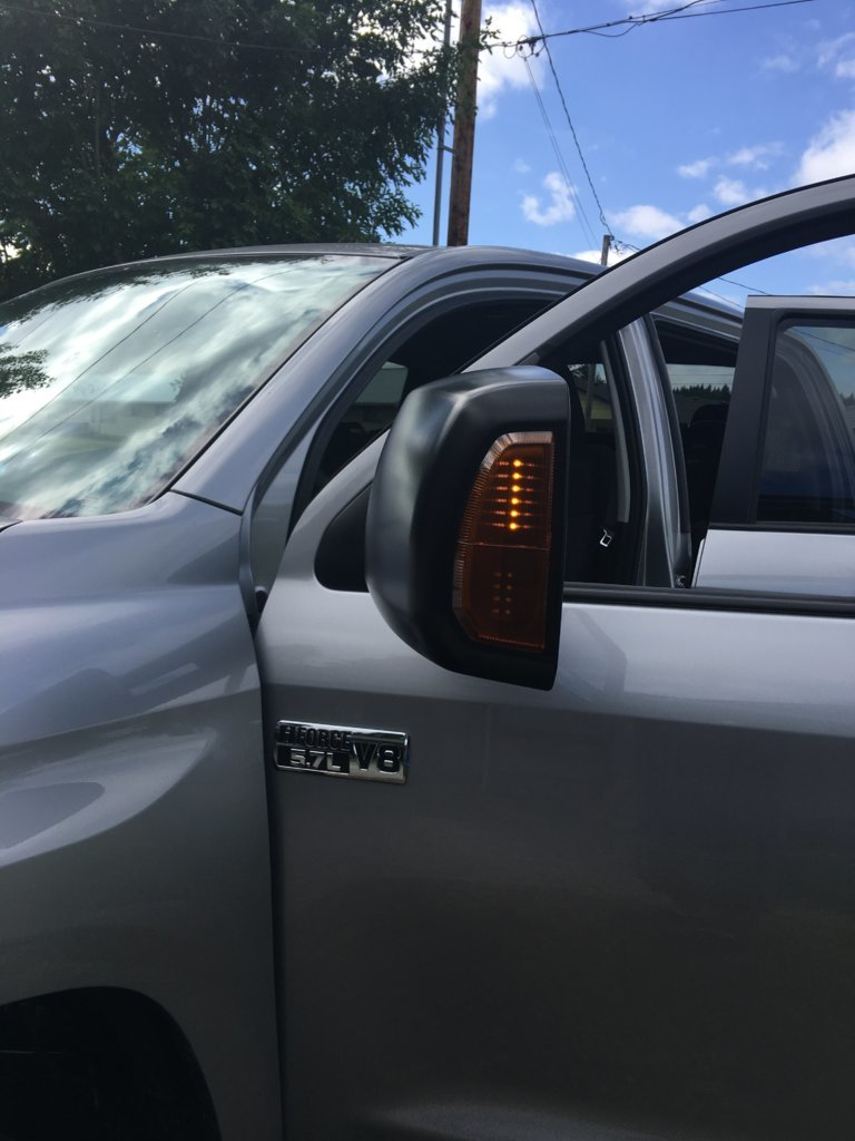 OEM Tow Mirrors on a 2017 (issues?)   Page 2   Toyota Tundra Forum