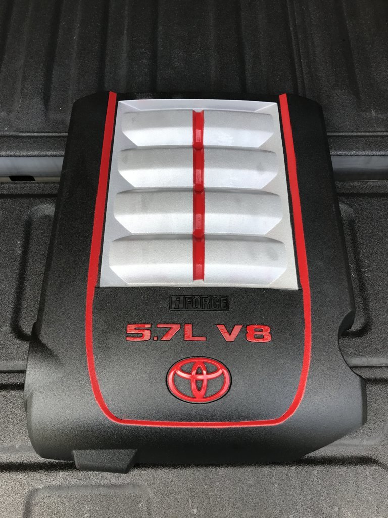 Toyota Tundra Tonneau Cover >> Painting the Engine Cover   Page 2   Toyota Tundra Forum