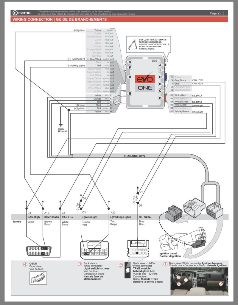 Fortin Evo One Remote Start Toyota Tundra Forum Auto Mobile Starter Kit Diagram Img 8985