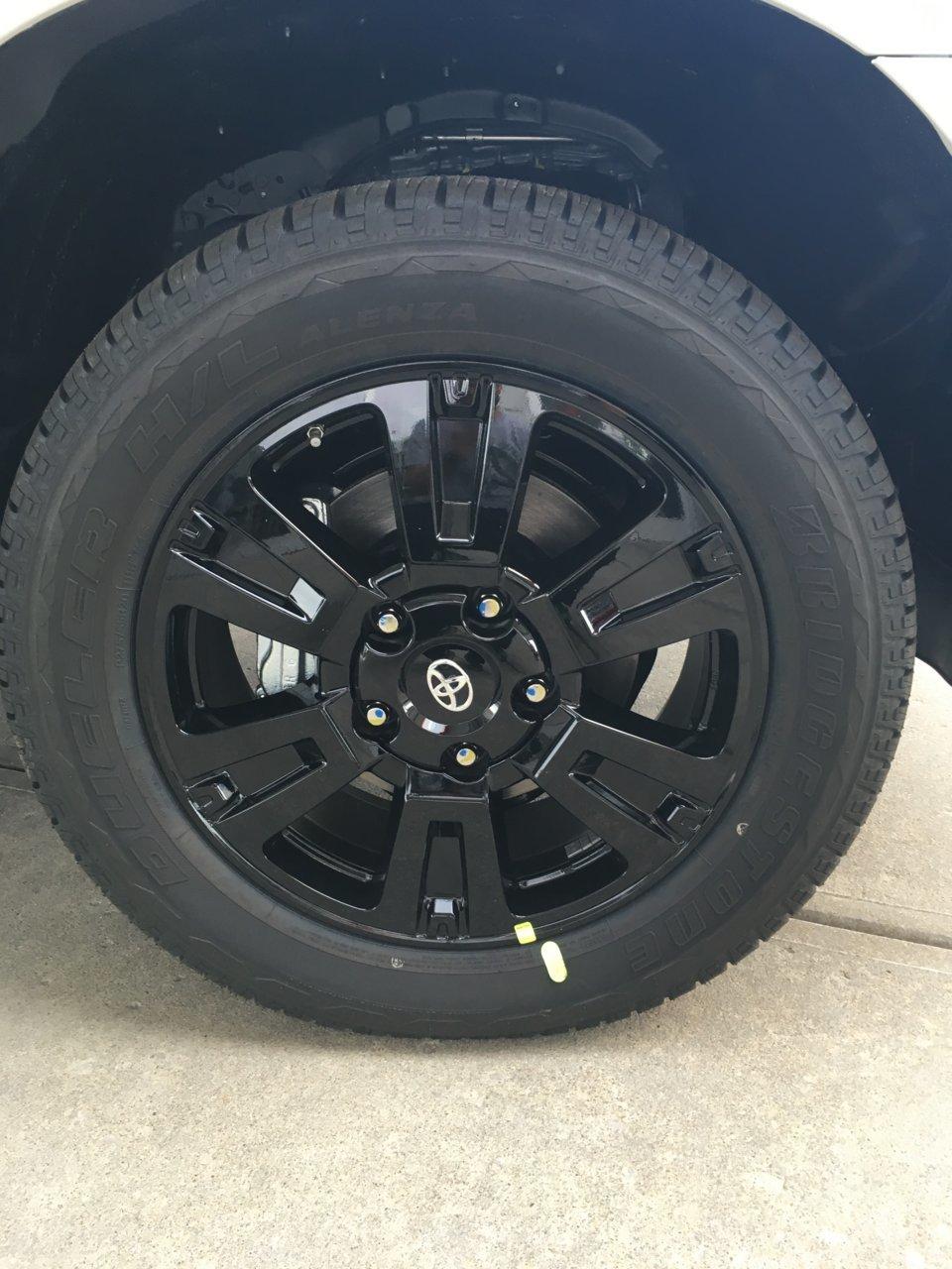 Toyota Baton Rouge >> Platinum/1794 wheels powdercoated black | Toyota Tundra Forum