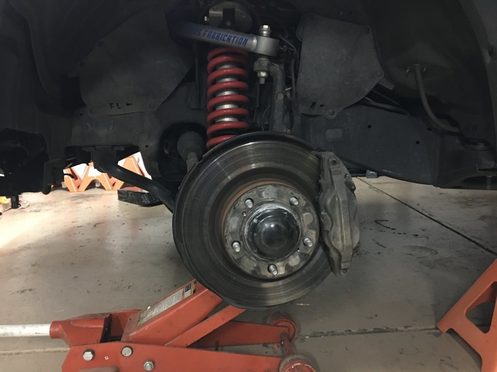 Diy Replacing Front Brake Pads And Rotors Toyota Tundra Forum When To Change Use