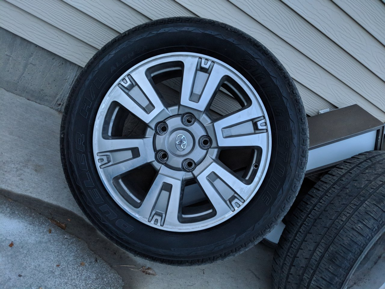 Set of Platinum Wheels and Tires | Toyota Tundra Forum