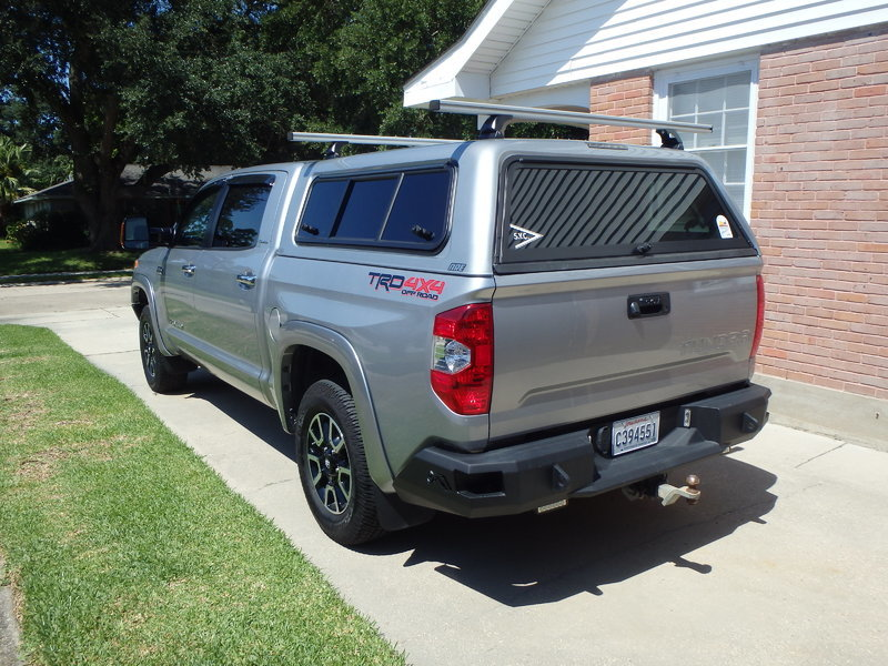 I love my rack. Installed it myself. It is a discontinued Thule but there are similar versions out there. & Need pre-purchase advice for camper shell ARE vs Leer | Page 2 ...
