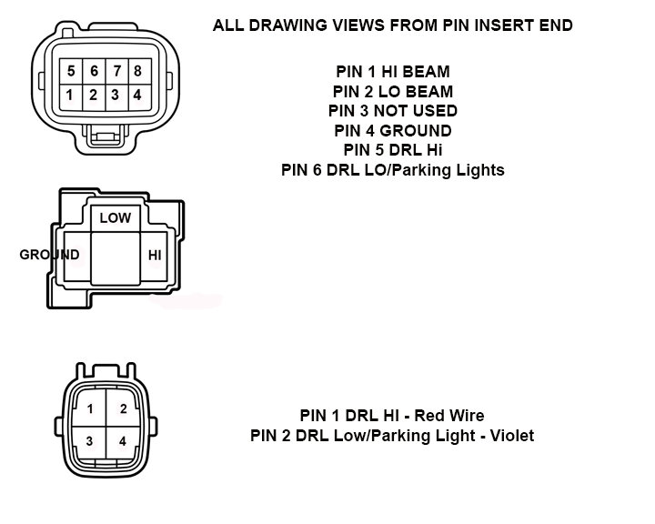 2018 tundra led headlight wiring info with diagrams toyota tundra rh tundras com h4 led headlight wiring diagram 7x6 led headlight wiring diagram