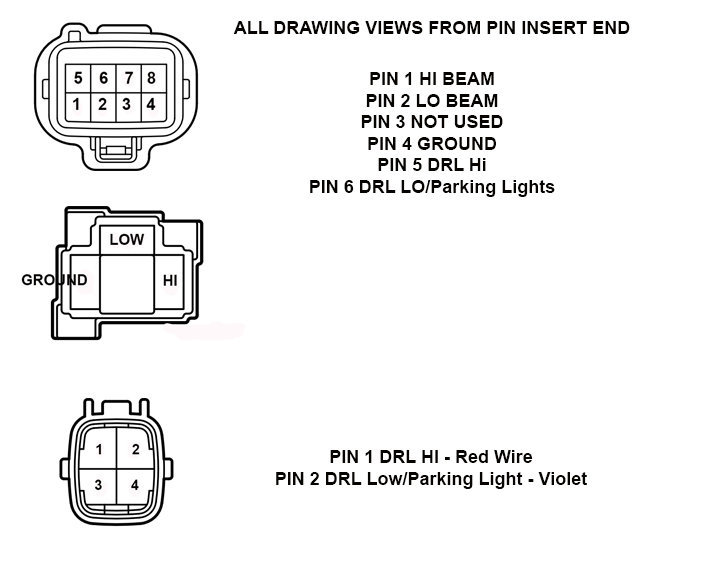 how to add led drl s to 2014 2017 tundra with factory amber drls rh tundras com 12V LED Wiring Diagram led daytime running lights wiring diagram