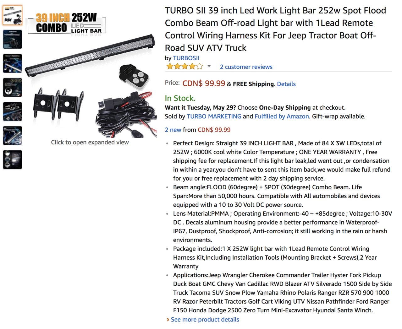 What Led Are The Best Toyota Tundra Forum Wiring Work Lights Tractor Screen Shot 2018 05 26 At 124954 Pm