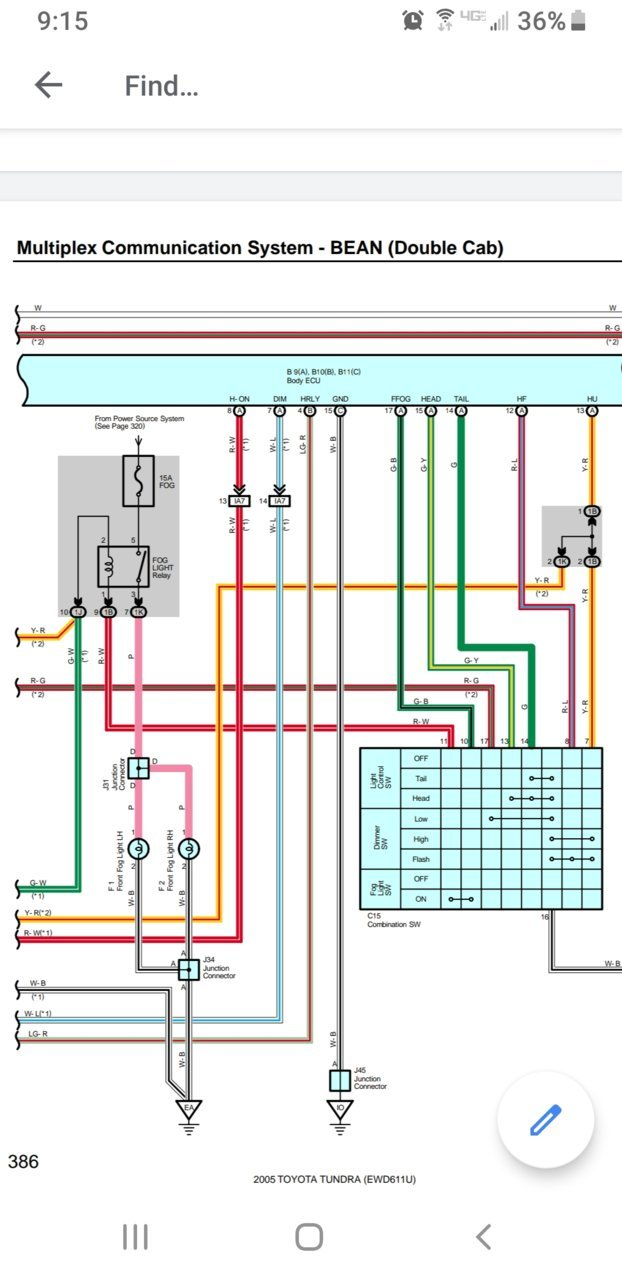 [SCHEMATICS_4UK]  1st gen fog light mod | Toyota Tundra Forum | 2007 Toyota Tundra Trailer Wiring Diagram Schematic |  | Toyota Tundra Forum