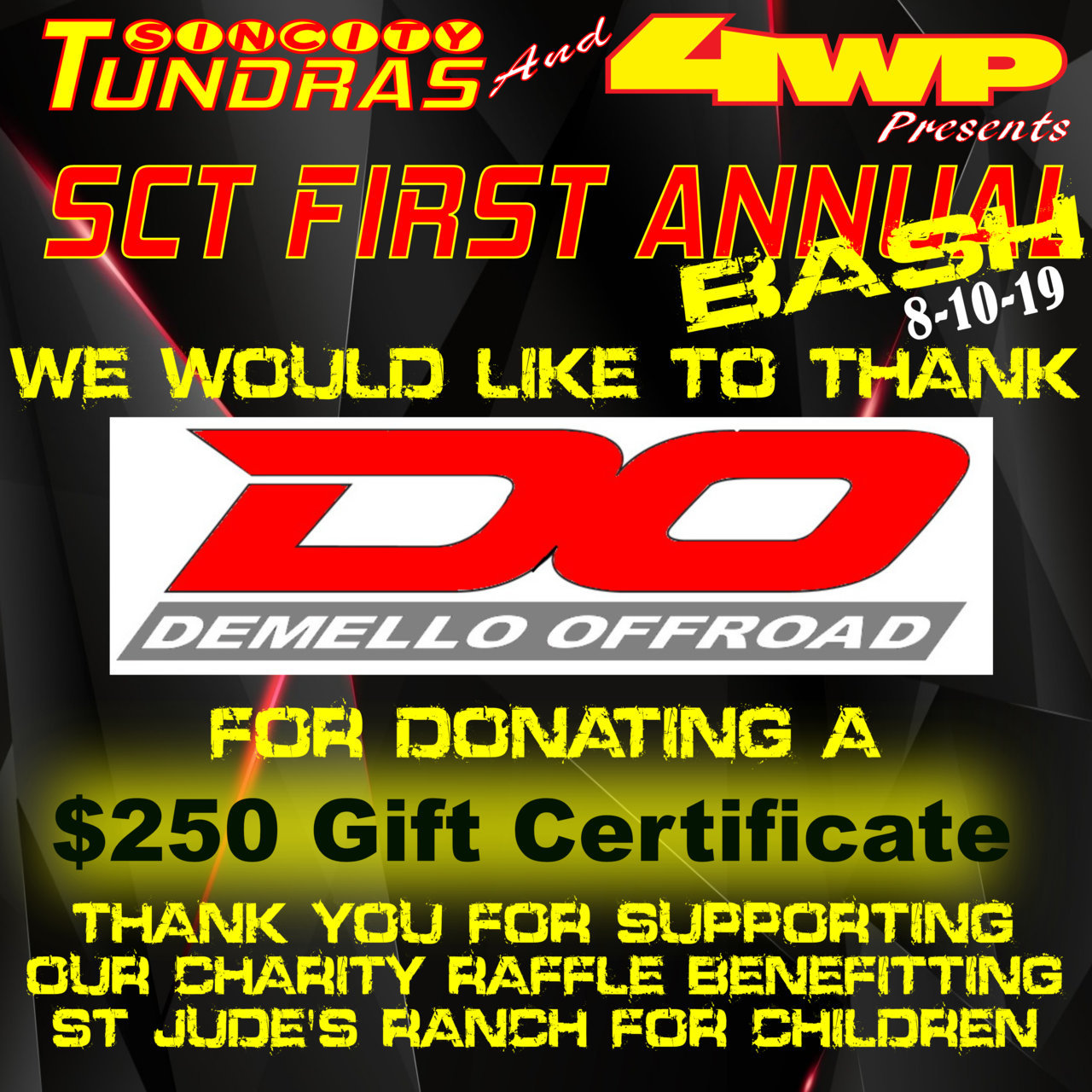 SCT First Annual Bash Coroporate Sponsor Demello Offroad.jpg