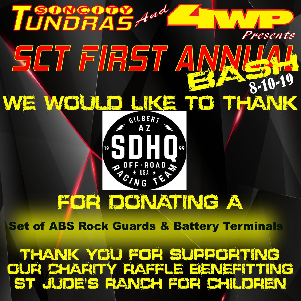 SCT First Annual Bash Coroporate Sponsor SDHQ.jpg