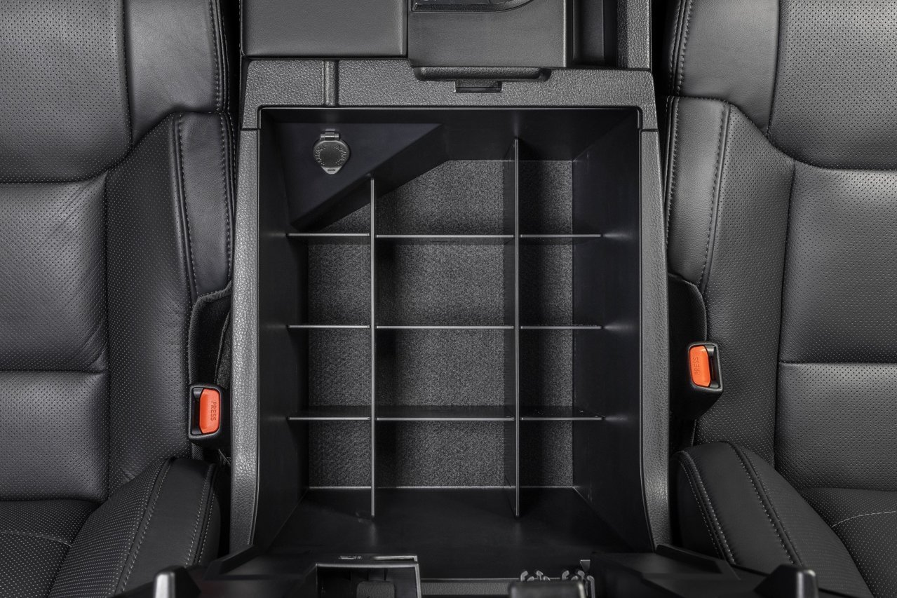SLX103 Vehicle OCD Toyota Tundra center console organizer empty 5 piece top view EBC.jpg