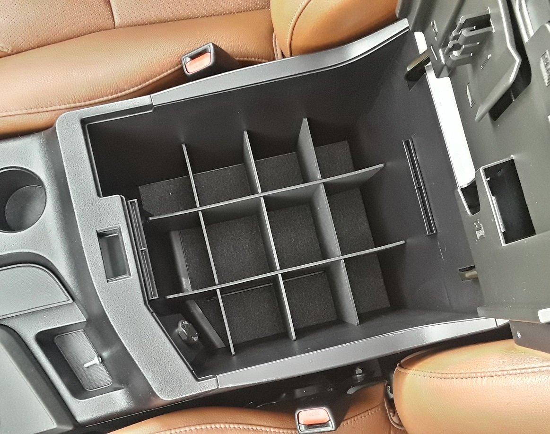 SLX111 Vehicle OCD Toyota Tundra Sequoia center console organizer installed.jpg