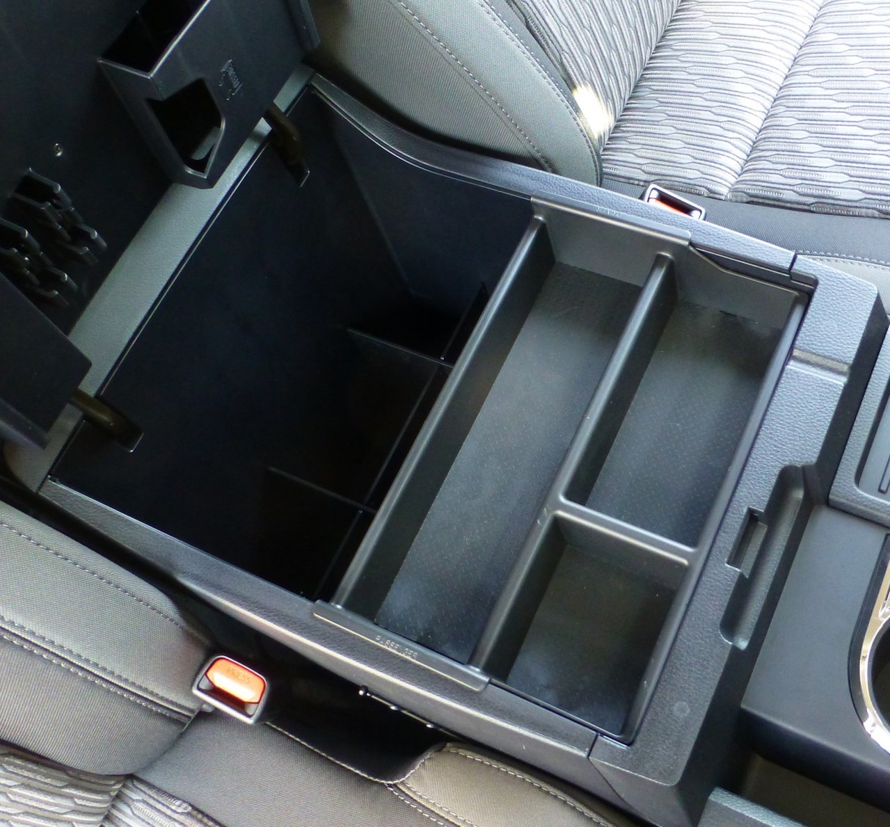 Tundra Center Console Tray From Salex Organizers Toyota