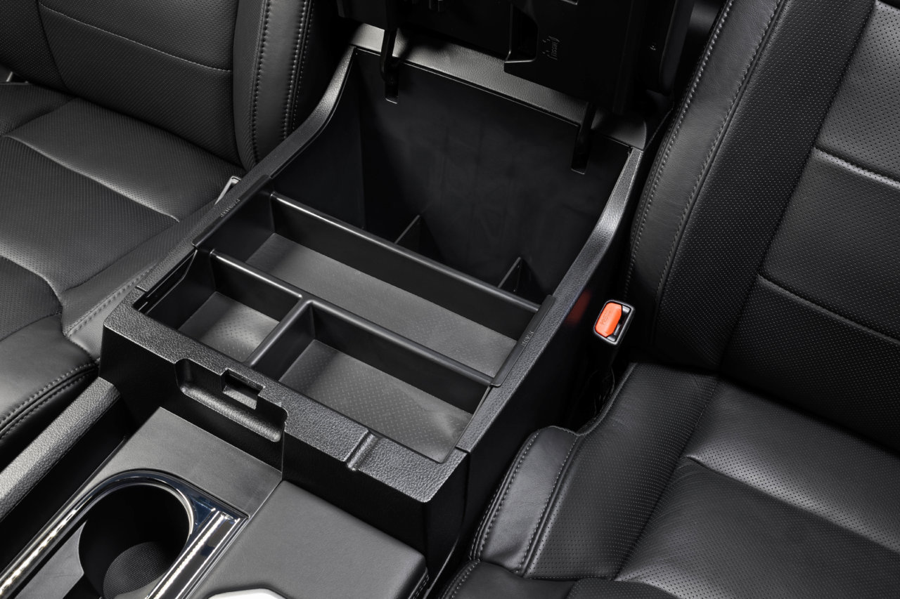 SLX125 Vehicle OCD Toyota Tundra center console organizer tray empty front.jpg