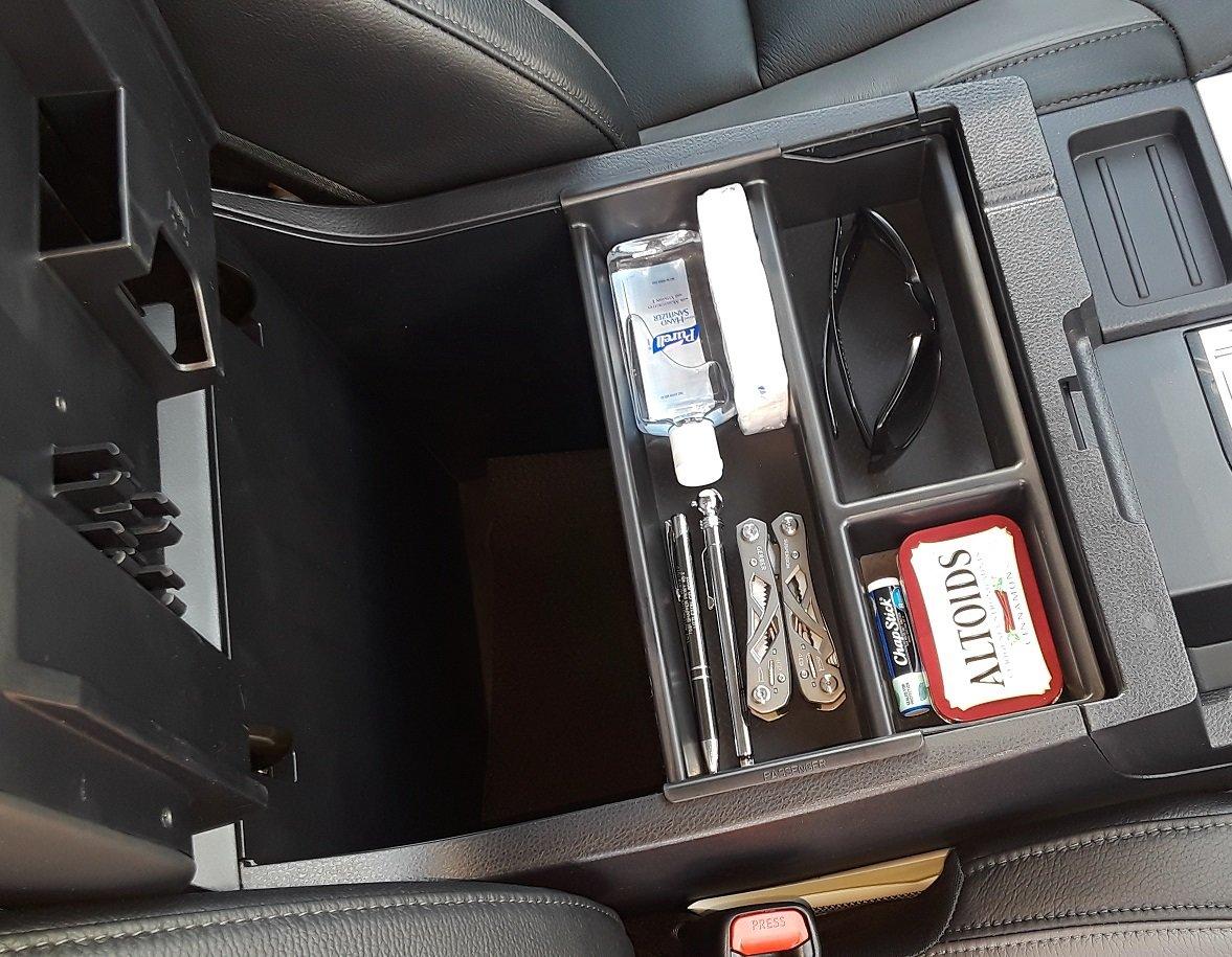 SLX125 Vehicle OCD Toyota Tundra Sequoia center console organizer tray full.jpg
