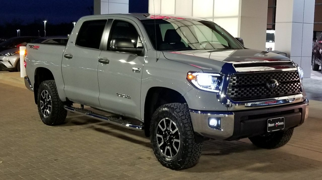3 Inch Leveling Kit Tire Size On 18inch Trd Wheels