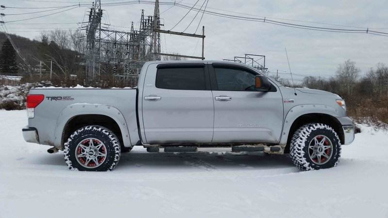 3 And 1 Level Lift Kit Toyota Tundra Forum