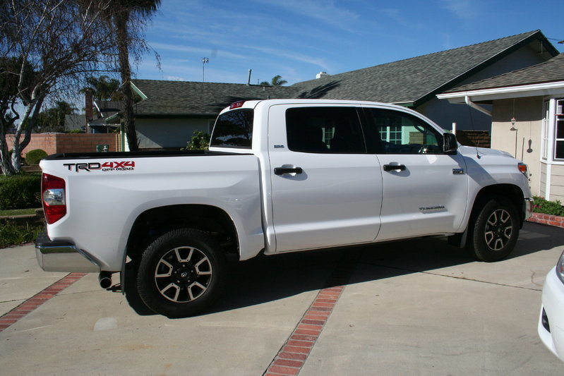 I Volunteer For A Large Off Road Racing Team And Help With Support Run Parts Such Ok On To The Tundra This Is It Stock