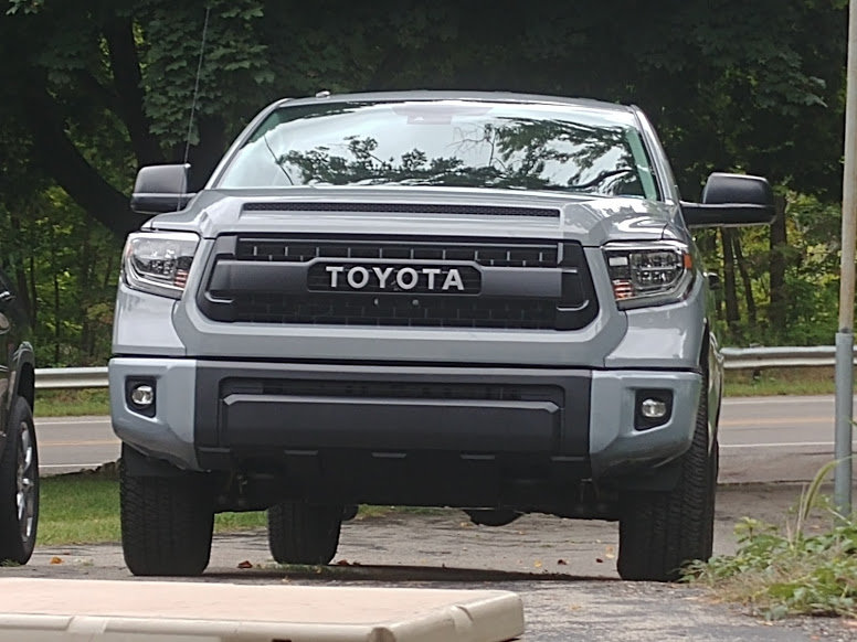 2014-2019 TRD Pro Grille for 2018+ TSS Relocation Kit CHEAP