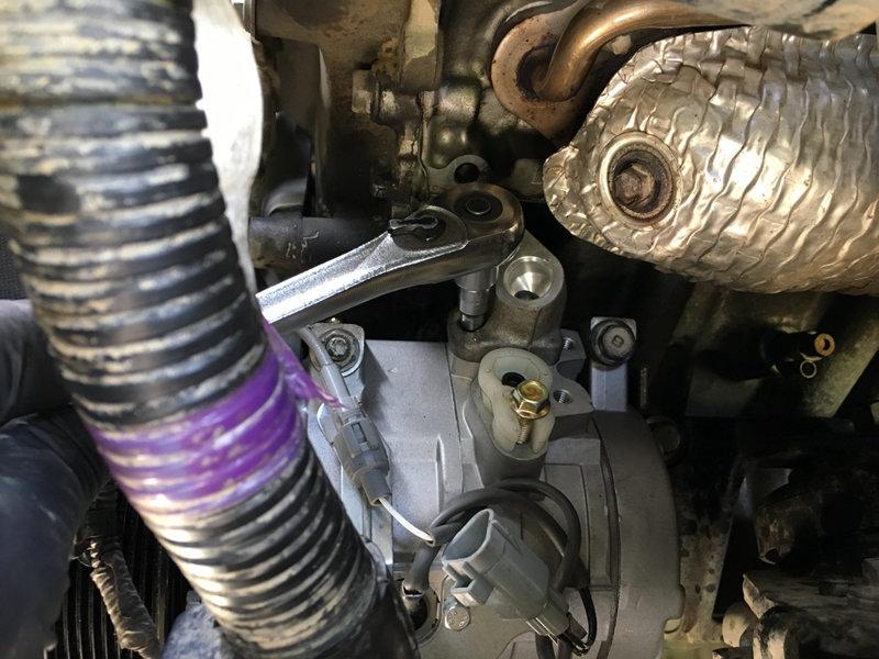 2nd Gen A/C Compressor Install | Toyota Tundra Forum