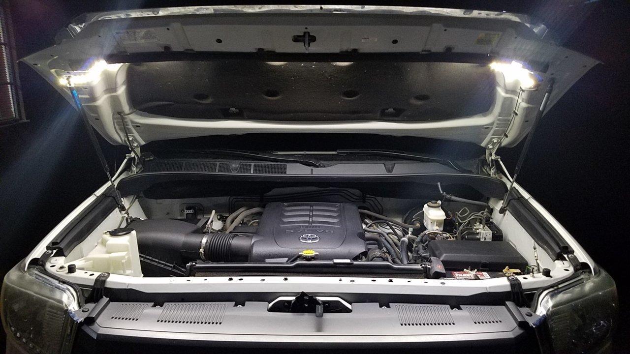 Mattgecko Led Bed Hood Light Kits Toyota Tundra Forum Push Button Ignition Lighted Rocker Switches Jeep Cherokee Warm White