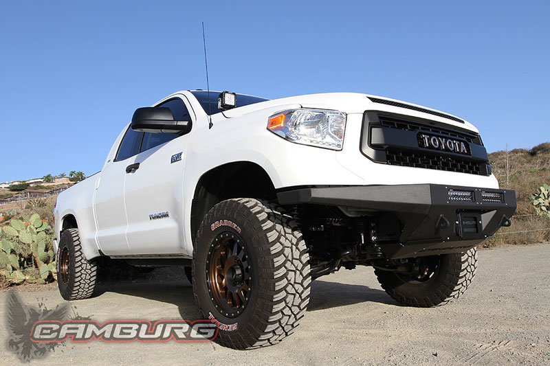 Look what seems to be available now: Camburg Toyota Tundra 2wd/4wd