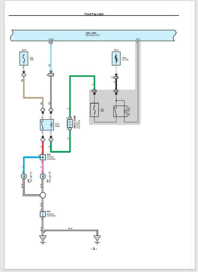 Fog Driving Light Wiring Diagram, Driving Light Wiring Diagram