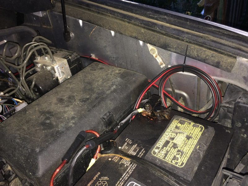 Running Cables through firewall | Toyota Tundra Forum on