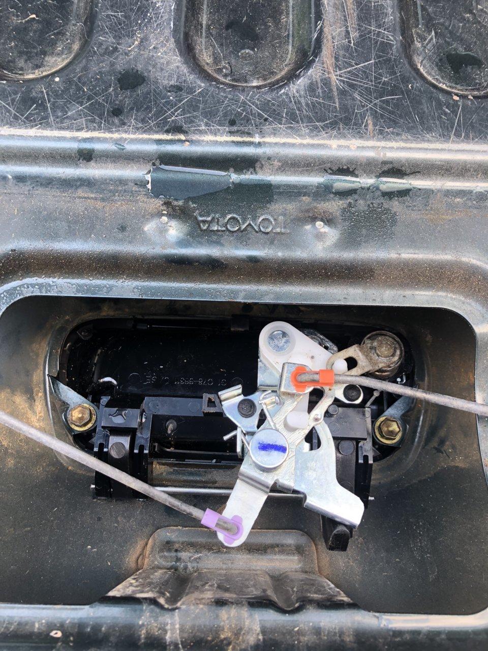 Broken Tailgate Handle Toyota Tundra Forum