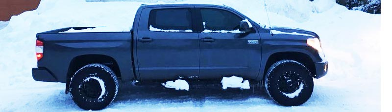 jberry813's 2015 Tundra in snow