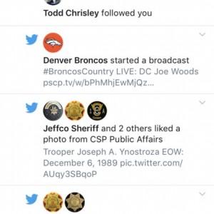 Damn. Todd Chrisley is following me haha