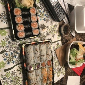 Best CS ever. Ordered via grubhub and the sushi place (first time for me going to this specific one) said they didnt get the order. Showed him my phon