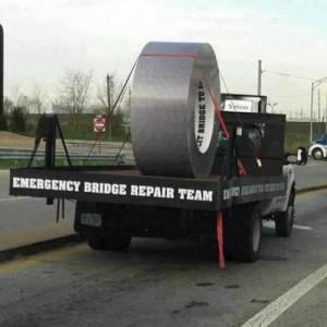 Bridge Repair Duct Tape