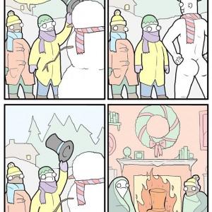 Burn Frostys Hat