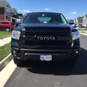 Truck TRD Grill Front