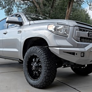 Nitto Ridge Grapplers LT295.65R20 (35.1-inches Tall X 12 Inches Wide) On 20x9 +18MM TIS Wheels_1